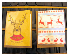 Christmas cards from Millbank and Kent