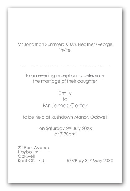 Wedding invitation wording brides divorced parents re married as p brides divorced parents re married as hosts stopboris Image collections