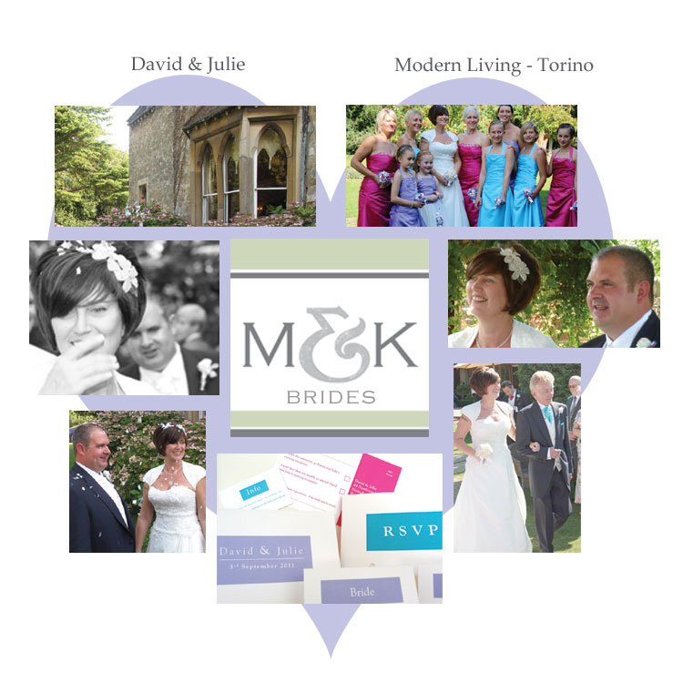 millbank couples julie and dave wedding invitations and